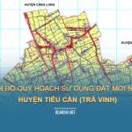 Tải về bản đô quy hoạch sử dụng đất huyện Tiểu Cần (Trà Vinh)