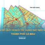Tải về quy hoạch sử dụng đất Thành phố Cà Mau