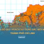 Tải về bản đồ quy hoạch sử dụng đất Thành phố Chí Linh (Hải Dương)