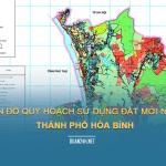 Tải về bản đồ quy hoạch sử dụng đất Thành phố Hòa Bình