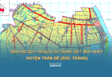 Tải về bản đồ quy hoạch sử dụng đất huyện Trần Đề (Sóc Trăng)