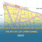 Tải về bản đồ quy hoạch sử dụng đất Thị xã Cai Lậy