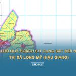 Tải về bản đồ quy hoạch sử dụng đất Thị xã Long Mỹ (Hậu Giang)