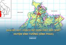 Tải về bản đồ quy hoạch sử dụng đất huyện Vĩnh Tường (Vĩnh Phúc)