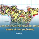 Tải về bản đồ quy hoạch sử dụng đất huyện Vũ Thư (Thái Bình)