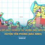 Tải về bản đồ quy hoạch sử dụng đất huyện Yên Phong (Bắc Ninh)