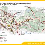 Sơ đồ quy hoạch hệ thống giao thông tỉnh Bắc Giang định hướng đến năm 2030