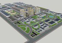 Phối cảnh tổng thể Khu công nghệ thông tin tập trung thành phố Cần Thơ