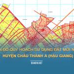 Tải về bản đồ quy hoạch sử dụng đất huyện Châu Thành A (Hậu Giang)