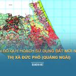 Tải về bản đồ quy hoạch sử dụng đất Thị xã Đức Phổ (Quảng Ngãi)