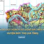 Tải về bản đồ quy hoạch sử dụng đất huyện Đức Thọ (Hà Tĩnh)