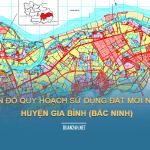 Tải về bản đồ quy hoạch sử dụng đất huyện Gia Bình (Bắc Ninh)