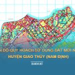 Tải về bản đồ quy hoạch sử dụng đất huyện Giao Thủy (Nam Định)