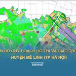 Tải về bản đồ quy hoạch đô thị và giao thông huyện Mê Linh (TP Hà Nội)