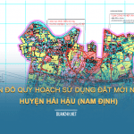 Tải về bản đồ quy hoạch sử dụng đất huyện Hải Hậu (Nam Đinh)
