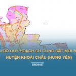 Tải về bản đồ quy hoạch sử dụng đất huyện Khoái Châu (Hưng Yên)