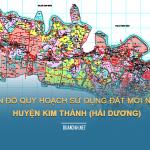 Tải về bản đồ quy hoạch sử dụng đất huyện Kim Thành (Hải Dương)