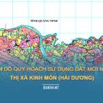 Tải về bản đồ quy hoạch sử dụng đất Thị xã Kinh Môn (Hải Dương)