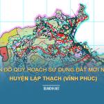 Tải về bản đồ quy hoạch sử dụng đất huyện Lập Thạch (Vĩnh Phúc)