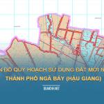 Tải về bản đồ quy hoạch sử dụng đất Thành phố Ngã Bảy (Hậu Giang)