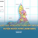 Tải về bản đồ quy hoạch sử dụng đất huyện Nghĩa Hưng (Nam Đinh)