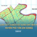 Tải về bản đồ quy hoạch sử dụng đất huyện Phú Tân (An Giang)