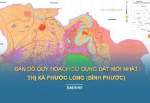 Tải về bản đồ quy hoạch sử dụng đất Thị xã Phước long (Bình Phước)