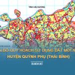 Tải về bản đồ quy hoach huyện sử dụng đất huyện Quỳnh Phụ (Thái Bình)