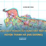 Tải về bản đồ quy hoạch sử dụng đất huyện Thanh Hà (Hải Dương)