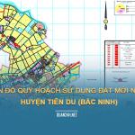 Tải về bản đồ quy hoạch sử dụng đất huyện Tiên Du (Bắc Ninh)