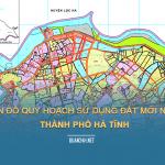 Tải về bản đồ quy hoạch sử dụng đất Thành phố Hà Tĩnh