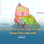Tải về bản đồ quy hoạch sử dụng đất Thành phố Lạng Sơn