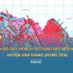 Tải về bản đồ quy hoạch sử dụng đất huyện Văn Giang (Hưng Yên)