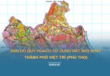 Tải về bản đồ quy hoạch sử dụng đất thành phố Việt Trì (Phú Thọ)