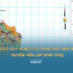 Tải về bản đồ quy hoạch sử dụng đất huyện Yên Lập (Phú Thọ)
