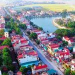 Thị trấn Thiệu Hóa, góc nhìn từ flycam