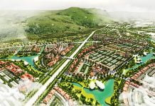 Phối cảnh quy hoạch Khu đô thị Liên Khương - Prenn