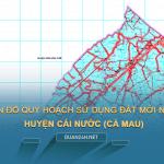 Tải về bản đồ quy hoạch sử dụng đất huyện Cái Nước (Cà Mau)