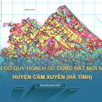 Tải về bản đồ quy hoạch sử dụng đất huyện Cẩm Xuyên (Hà Tĩnh)