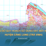 Tải về bản đồ quy hoạch sử dụng đất huyện Càng Long (Trà Vinh)