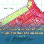 Tải về bản đồ quy hoạch sử dụng đất Thành phố Châu Đốc (An Giang)