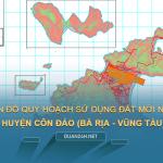 Tải về bản đồ quy hoạch sử dụng đất huyện Côn Đảo (Bà Rịa - Vũng Tàu)