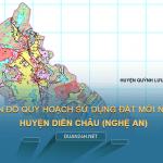 Bản đồ quy hoạch sử dụng đất huyện Diễn Châu (Nghệ An)