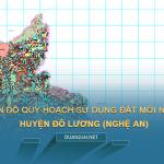Tải về bản đố quy hoạch sử dụng đất huyện Đô Lương (Nghệ An)