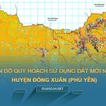 Tải về bản đồ quy hoạch sử dụng đất huyện Đồng Xuân (Phú Yên)