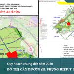 Phê duyệt nhiệm vụ quy hoạch chung đô thị Cây Dương, huyện Phụng Hiệp, tỉnh Hậu Giang