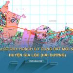 Tải về bản đồ quy hoạch sử dụng đất huyện Gia Lộc (Hải Dương)