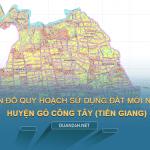 Tải về bản đồ quy hoạch sử dụng đất huyện Gò Công Tây (Tiền Giang)