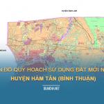 Tải về bản đồ quy hoạch sử dụng đất huyện Hàm Tân (Bình Thuận)