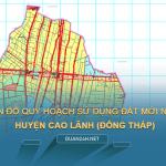 Tải về bản đồ quy hoạch sử dụng đất huyện Cao Lãnh (Đồng Tháp)